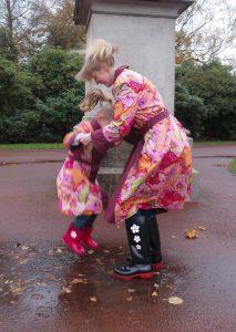 Rainwear, rain macs, reversible macs